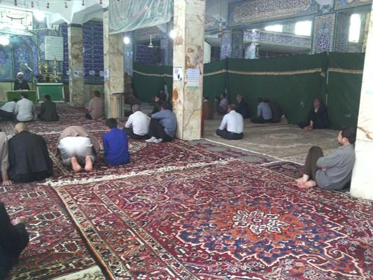 سخنرانی امام جمعه قهدریجان در مراسم اعتکاف مسجد بزرگ
