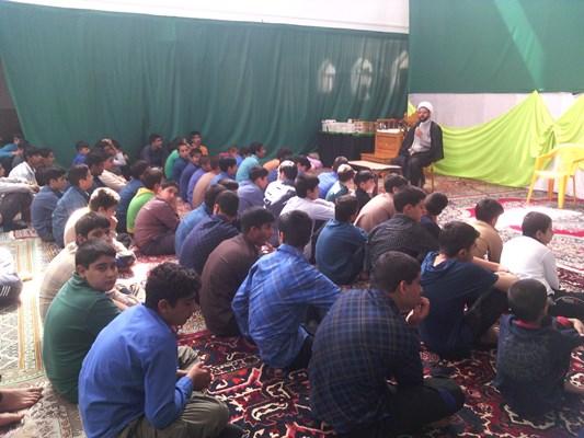 سخنرانی امام جمعه قهدریجان در مراسم اعتکاف مسجد بلال