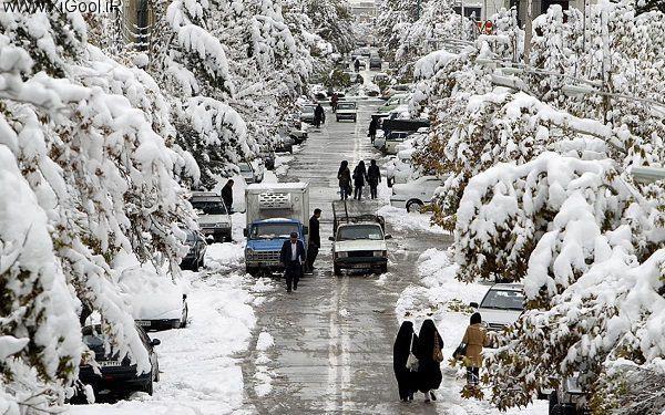 2 انشا درباره یک روز برفی
