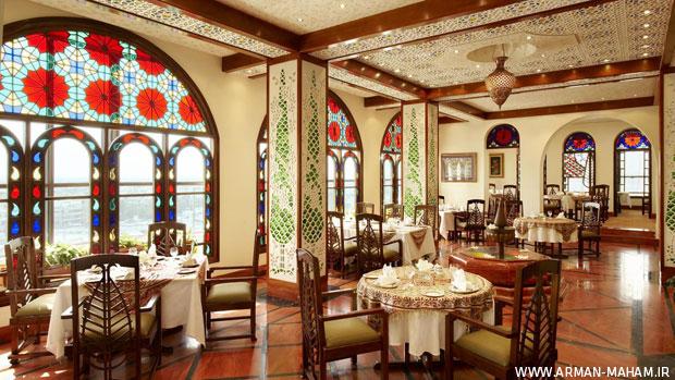 دکوراسیون داخلی رستوران ایرانی