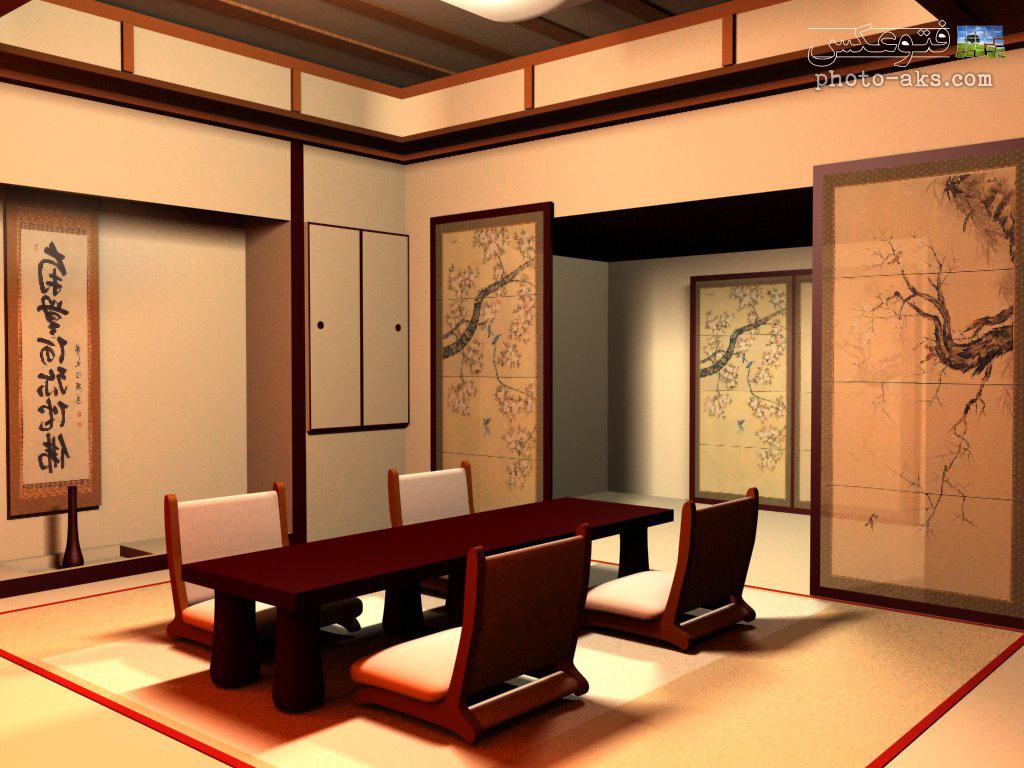 دکوراسیون داخلی ژاپنی