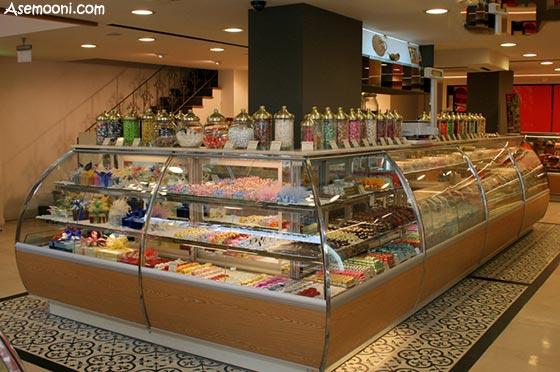 دکوراسیون داخلی شیرینی فروشی