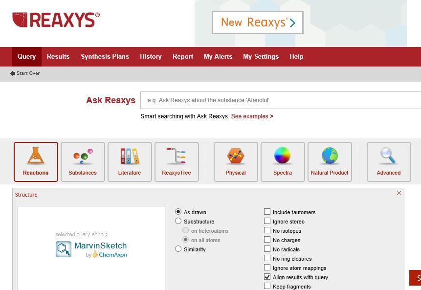پسورد پایگاه های علمی - پسورد پیگاه رکسیز Reaxys