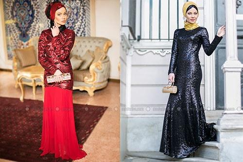 مدل جدید لباس مجلسی شیک و پوشیده 2015