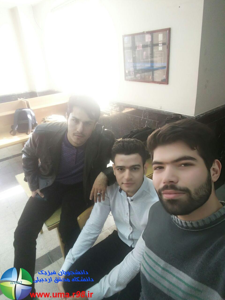 علی لویی و رامین موسوی و احد پیر کلخوران