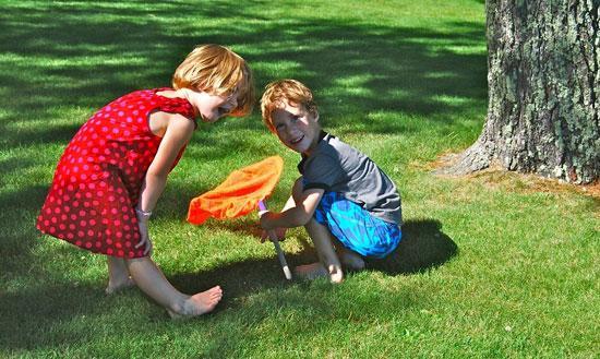 بچه ها را با طبيعت دوست کنيد