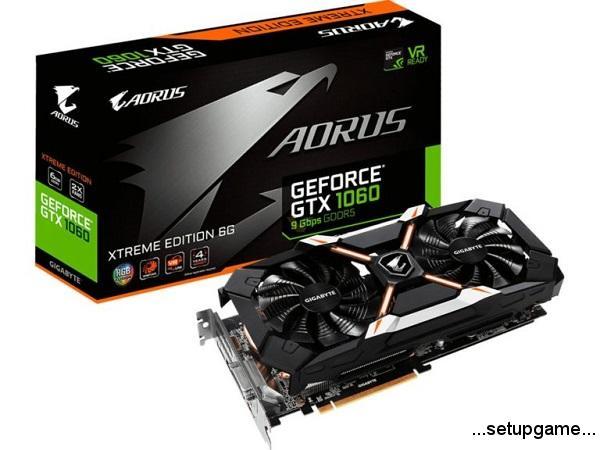 با کارت گرافیک AORUS GTX 1060 Xtreme Edition 6G 9Gbps گیگابایت مرزها را جابجا کنید!