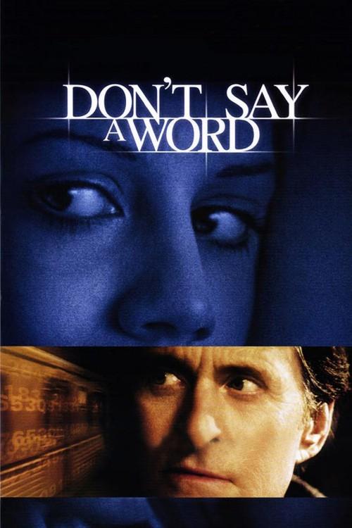 دانلود رایگان دوبله فارسی فیلم هیچ چیز نگو Dont Say a Word 2001