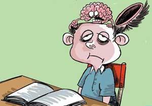 اس ام اس خفن خنده دار امتحانات دانش آموزان و دانشجویان 96