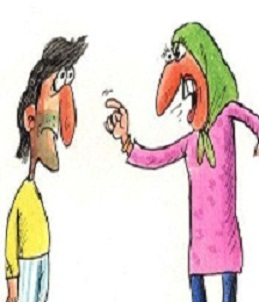 داستان خنده دار ادب شوهر توسط زن داعشی | ادب کردن شوهر