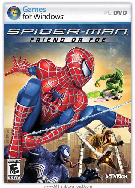 دانلود بازی Spider-Man Friend Or Foe برای کامپیوتر