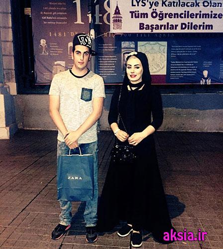 عکس های سحر قریشی با تیپ متفاوت در ترکیه