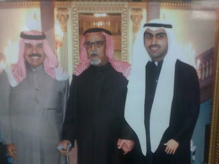 صورة نادره للشیخ سعود الدغیم السویط