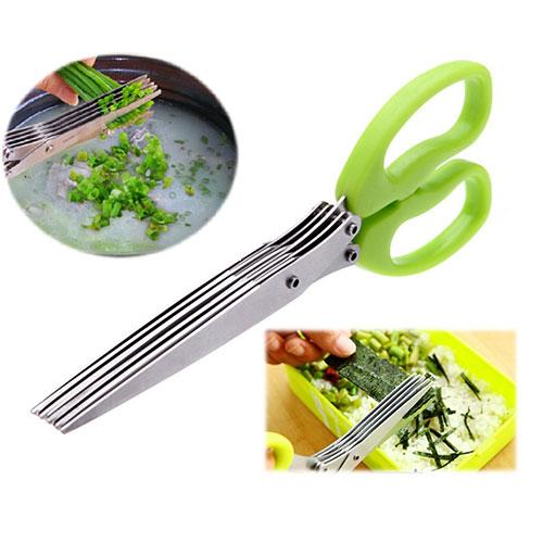 قيچي سبزي خردكن SCISSORS - خرد کردن آسان سبزیجات