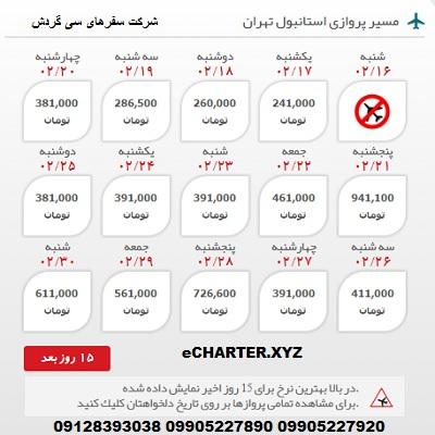 خرید بلیط هواپیما استانبول تهران + خرید بلیط هواپیما لحظه اخری استانبول تهران + بلیط هواپیما ارزان �