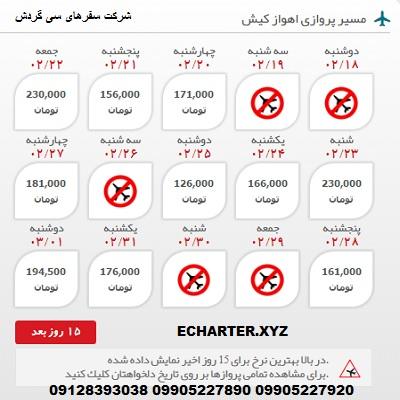 خرید بلیط هواپیما اهواز کیش + خرید بلیط هواپیما لحظه اخری اهواز کیش + بلیط هواپیما ارزان قیمت اهواز �