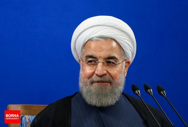 روحانی کسب مقام سومی را به فوتبال ساحلی ایران تبریک گفت