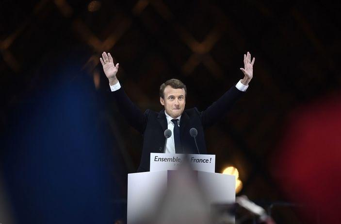 امانوئل ژان میشل فردریک ماکرون 39 ساله رئیس جمهور فرانسه شد