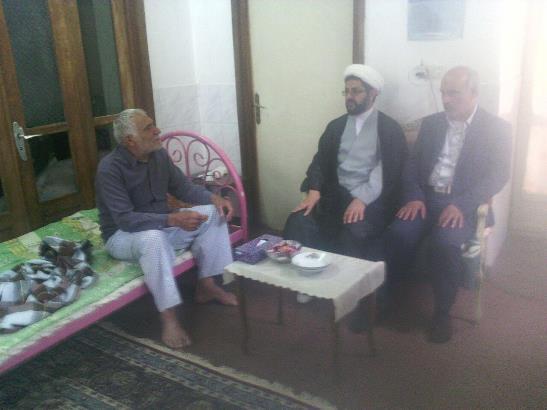 عیادت از بیماران و افراد فعال در نماز جمعه