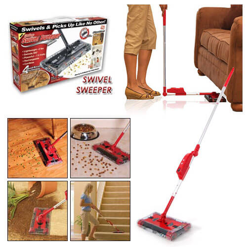 جاروشارژی swivel sweeper  - جاروی شارژی بدون سیم