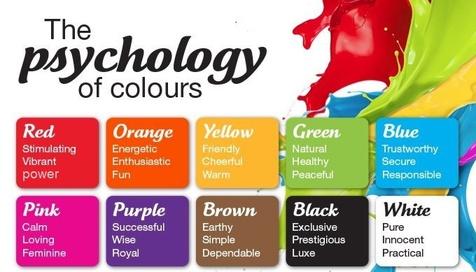10 رنگ تاثیر گذار در فروش
