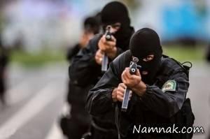 قرآنی که جان مامور پلیس را نجات داد! + عکس