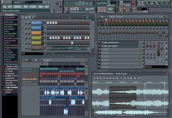 دانلود نرم افزار FL Studio 10.0.2