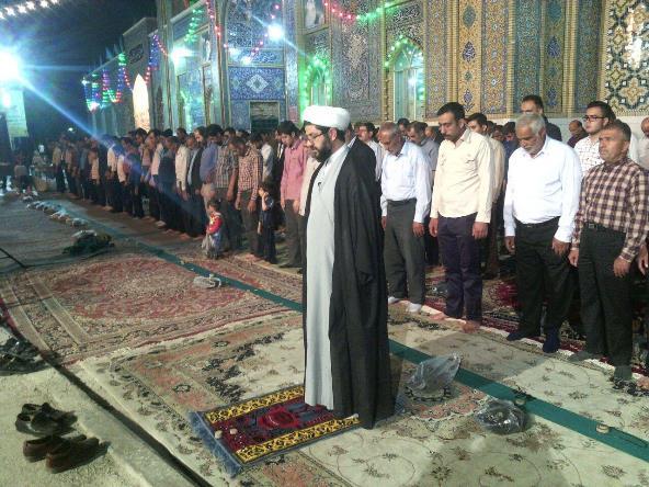نماز جماعت جشن نیمه شعبان