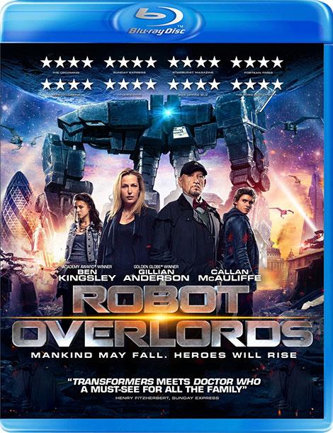 دانلود دوبله فارسی فیلم اربابان آهنین Robot Overlords 2014