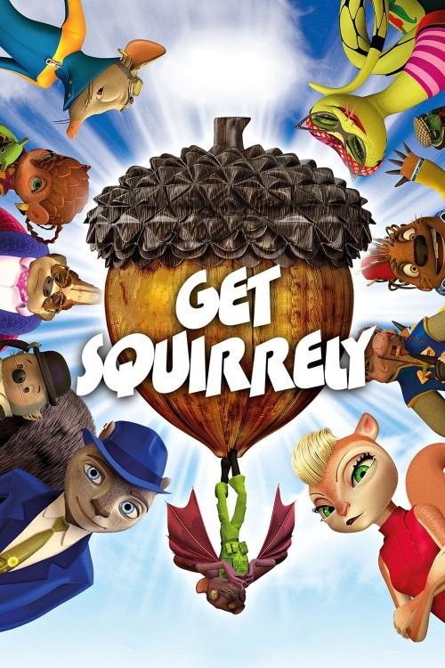 دانلود دوبله فارسی انیمیشن ماموریت سنجابی Get Squirrely 2015