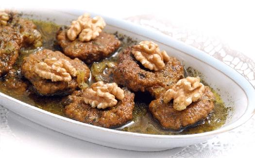 طرز پخت نافله غذای محلی خوزستان