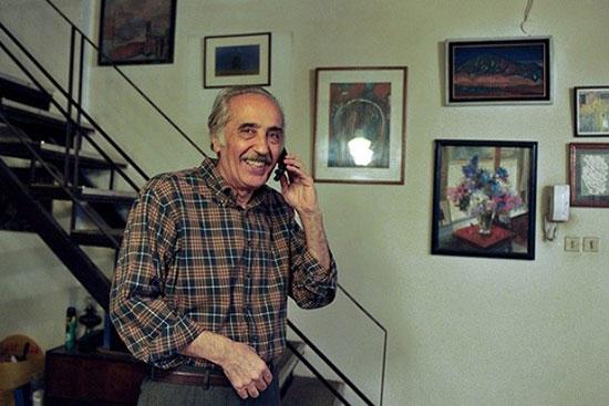 خانه شاعر تهران؛ محمد علی سپانلو