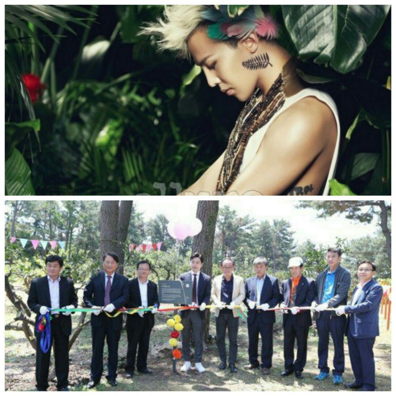 افتتاح جنگلی به اسم جی دراگون