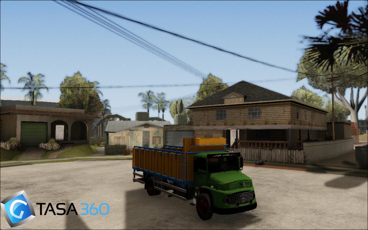 کامیون خاور1313 جدید برای gta sa