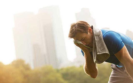 نکاتی برای ورزش در هوای گرم
