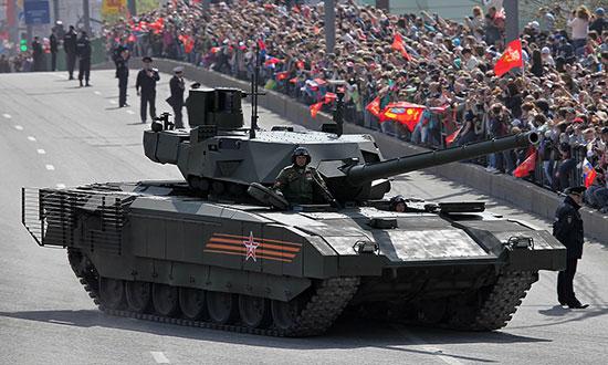 تانک «آرماتا»؛ مبارز 48 تنی روسها!
