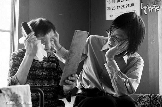 تصاویری از پیوند عمیق نوه و مادربزرگ پیش از تراژدی