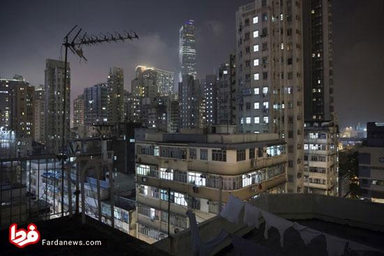تصاویر عجیب از خانههای تابوتی هنگ کنگ