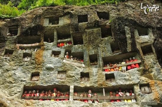 مراسم تدفین عجیب و غریب قبیله توراجا
