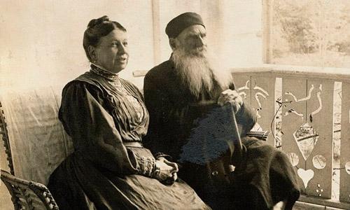 عشق و نفرت؛ رابطه عجیب «تولستوی» و همسرش