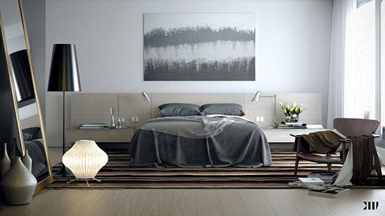 رنگ اتاق خواب را چگونه انتخاب کنیم؟