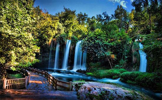 آبشارهای دودن، طبیعت گردی در آنتالیا