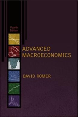 حل تمرین کتاب اقتصاد کلان پیشرفته Romer