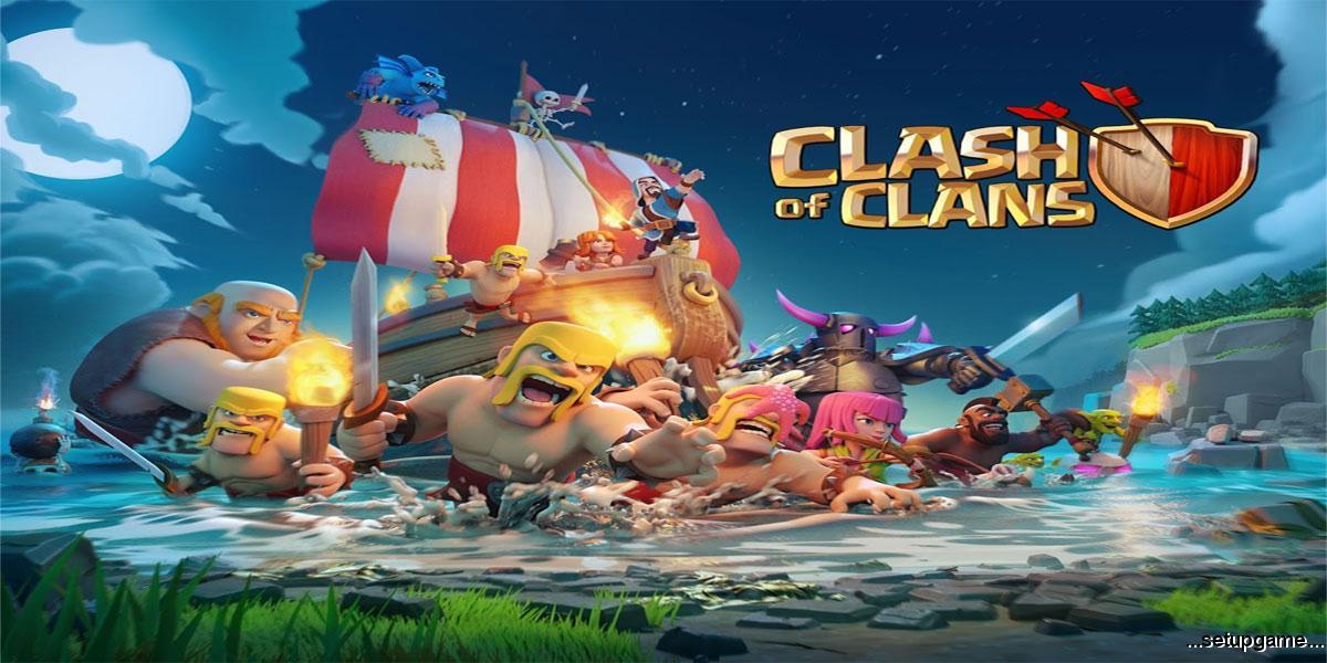 دانلود Clash of Clans 9.24.1 – آپدیت خرداد بازی آنلاین جنگ قبیله ها اندروید !