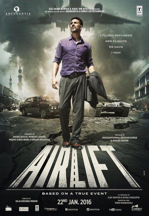 دانلود فیلم Airlift 2016