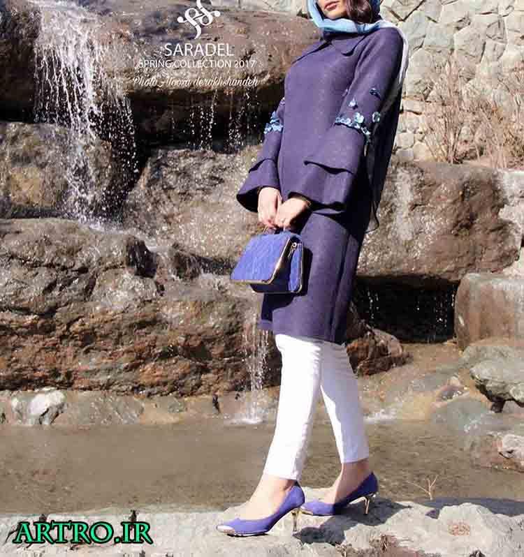 جدیدترین مدل مانتو دخترانه 96,