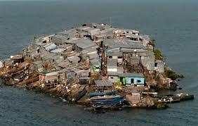 شلوغ ترین جزیره دنیا