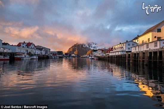 جزایر لوفوتن نروژ را از دید پرنده ببینید و لذت ببرید