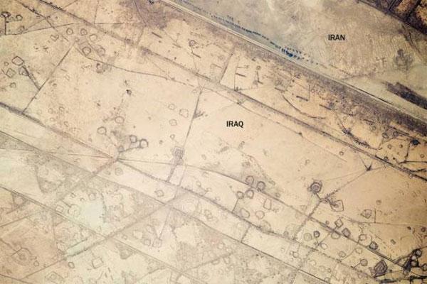 تصاویر هوایی از مرزهای میان برخی از کشورها