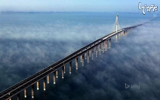 طولانی ترین پل روی آب جهان